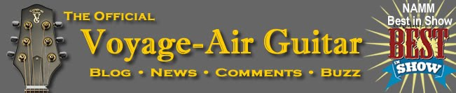 Official Voyage-Air Guitar Blog