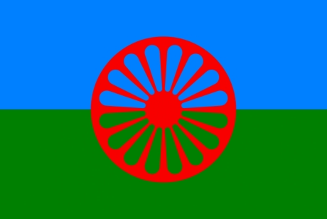 FLAG OF THE ROMA