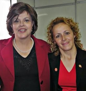 PRESIDENTA DILMA E MARGARETE
