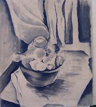 Frutas blanco y negro