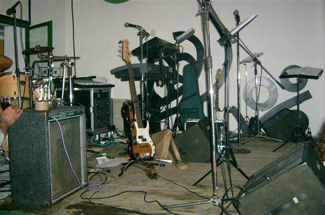 Escenario en el Ojeo. Marzo 2004