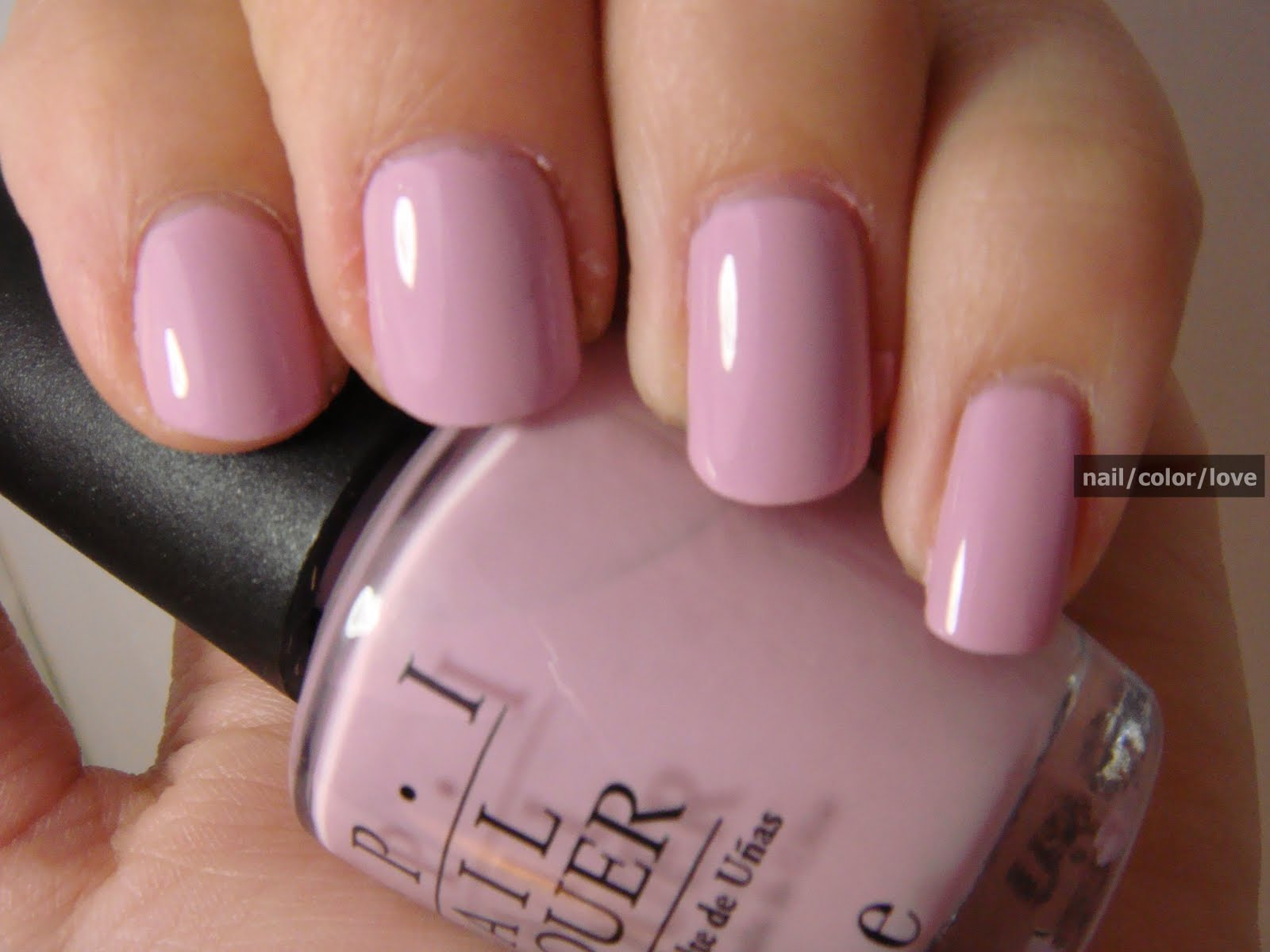 Opi S In The Spot Light Pink Nail Color