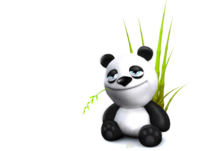 funny panda wallpapers pic