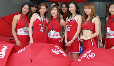 race umbrella girls foto