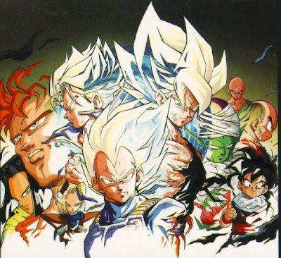 wallpaper anime Dragon Ball-Z goku bezita