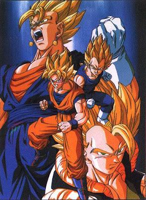wallpaper anime Dragon Ball-Z goku gohan