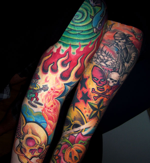 Labels: Buddha Tattoo Colour In Hand colour skull design tattoos. tag : fine
