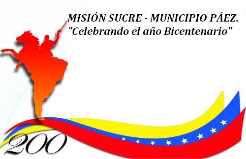 MISION SUCRE - MUNICIPIO PÁEZ