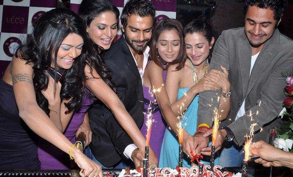 Ashmit Patel Birthday Party Pics. On Ashmit Patel#39;s Birthday