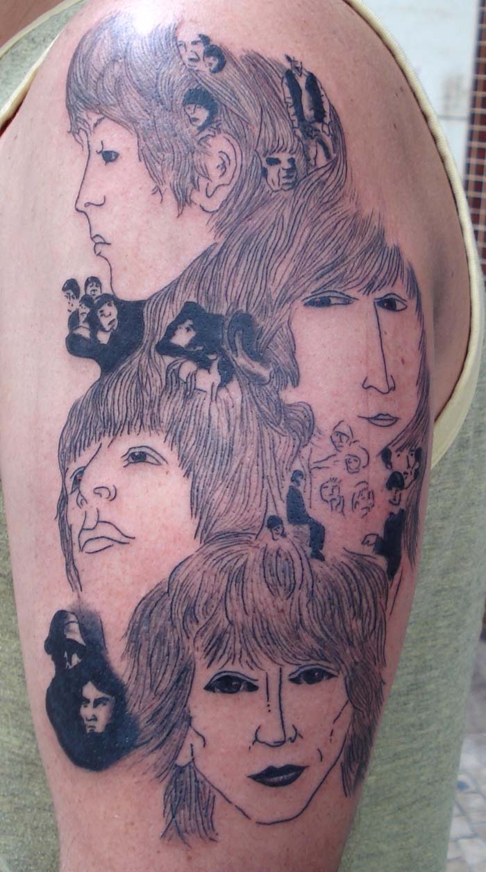 Beatles Quotes Tattoos. QuotesGram Malin Akerman Husband