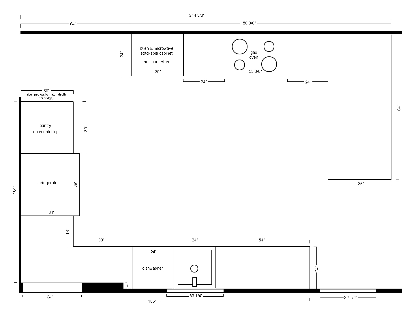 The Gibbons House Kitchen Plans