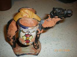 la salière  en poterie, d'il y a pas mal d'années