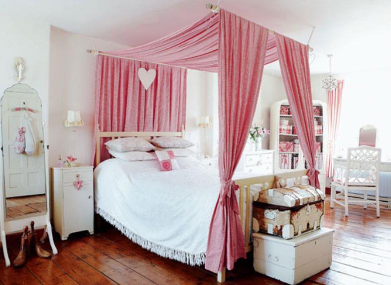 Как сделать балдахин над кроватью  с фото
