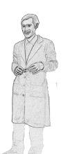 Simón. Boceto de vestuario