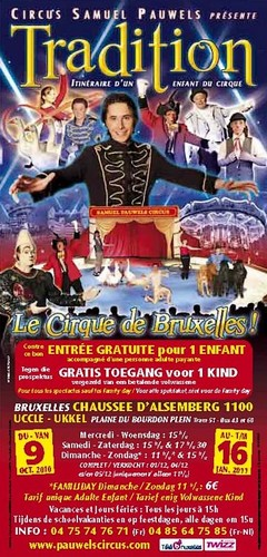 anniversaire cirque pauwels uccle