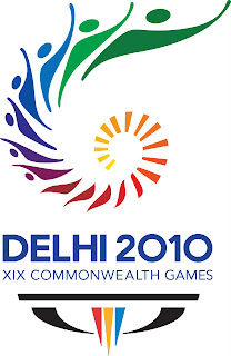 2010 Commonwealth Games Logo. Come out and play
