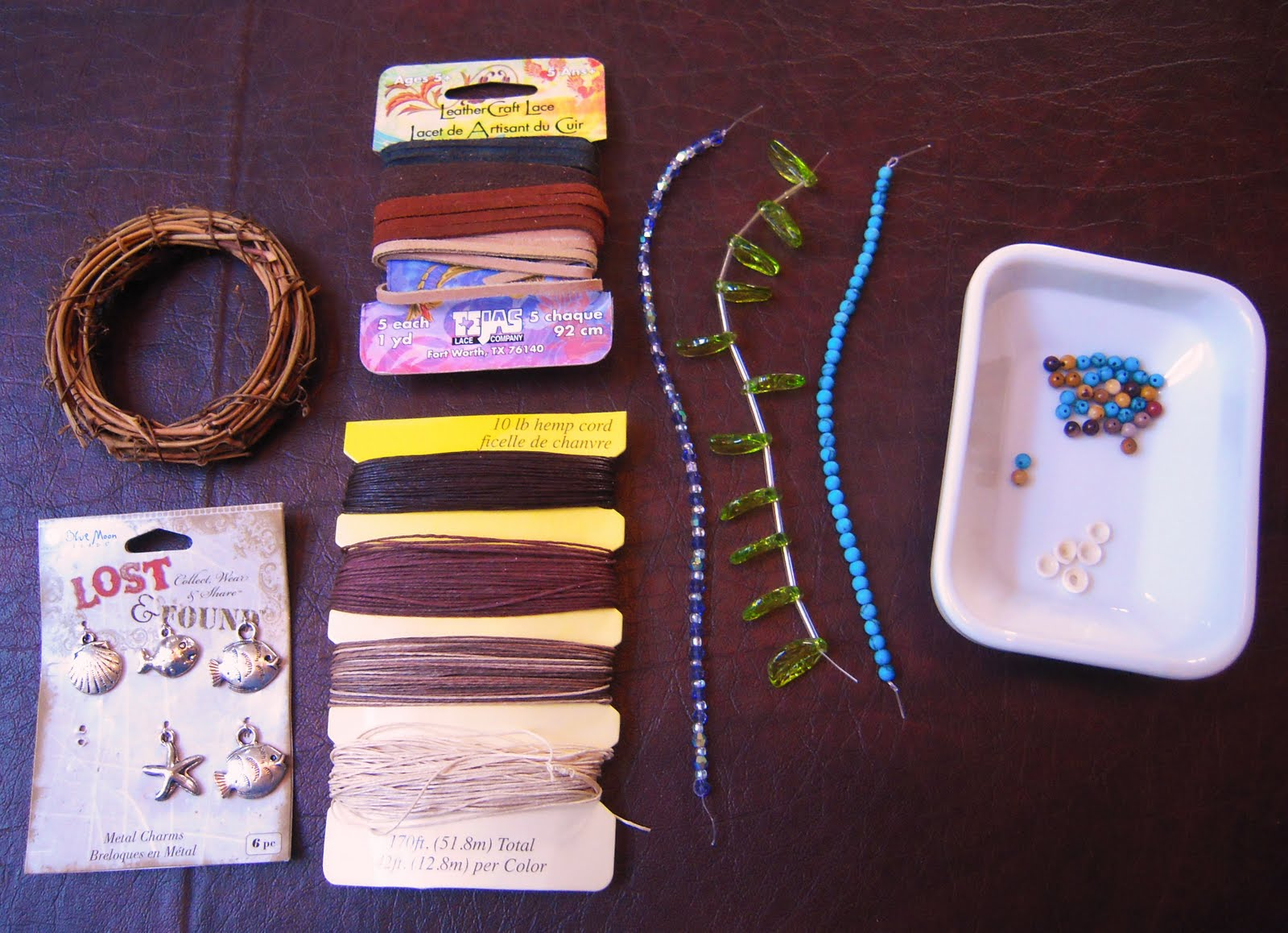 Twilight family how to make your own new moon dreamcatcher for Materials to make a dreamcatcher