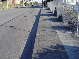 shadow+street