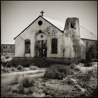 Abandoned Church at Santo Domingo Indian Reservation - Brandon Allen