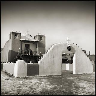 Church at Taos Pueblo - New Mexico - Brandon Allen Photography