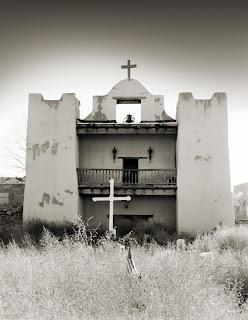 New Mexico Pueblo - Old Zuni Mission - Brandon Allen