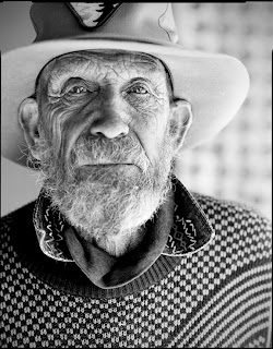 Death Valley Portraits - Rhyolite NV. - Brandon Allen Photography