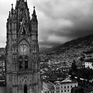Quito Ecuador - Brandon Allen Photography - Basilica