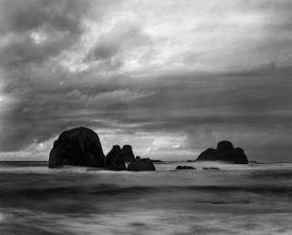 Brandon Allen Photography - California Coast - Large Format Black and White