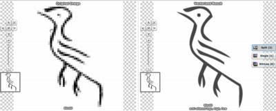 Vectormagic bird comparison