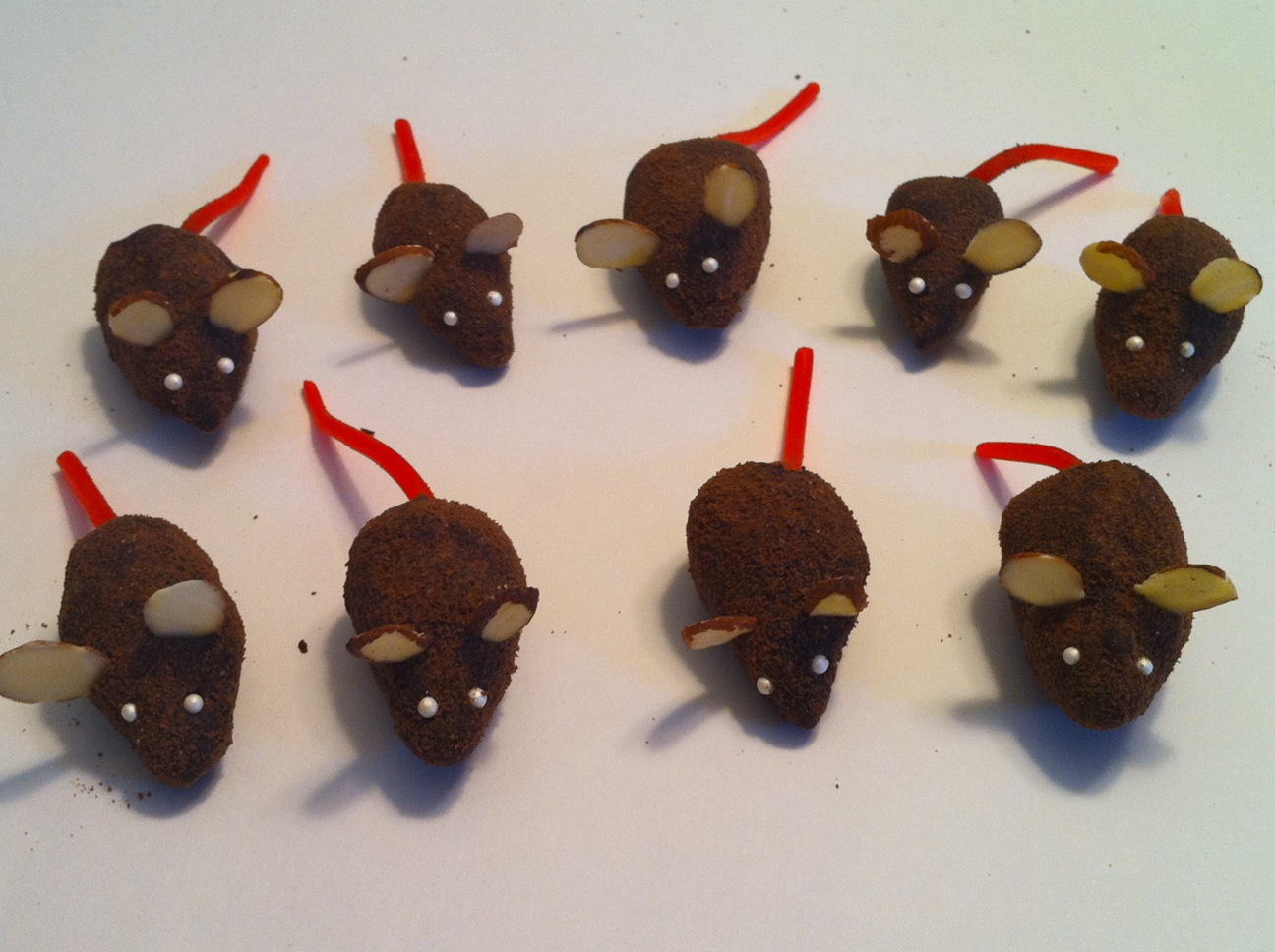 Chocolate Mice Recipe — Dishmaps