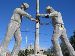 Monumento al trabajador petrolero.Comodoro Rivadavia