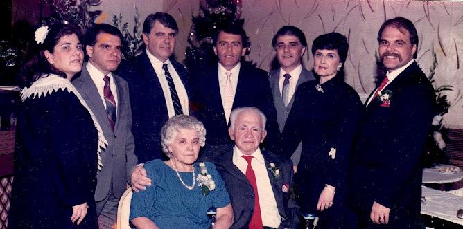 Gus Gambatese Family 1986