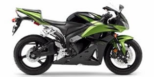 Honda CBR 600RR Black Green