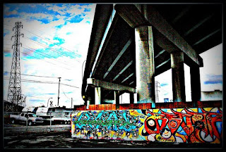 Crowchild Trail Underpass Graffiti Tagging Design