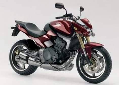 Car And Motorcycle Modification Honda Hornet 600cc Red Maroon Edition