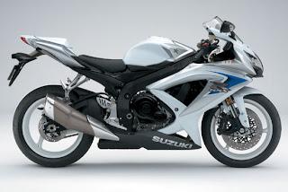 Motorcycles 2008  Suzuki GSX R600 White  Edition Bodykit