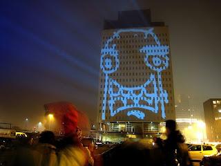 Graffiti Tagging Research Lab laser