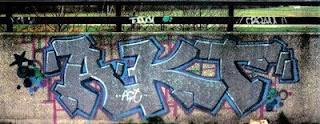 AKT Stack Graffiti Alphabet Letter