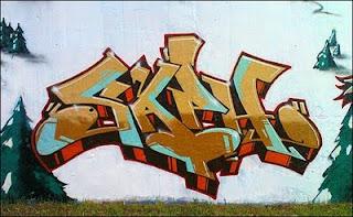 Graffiti Alphabet Tagging Bubble