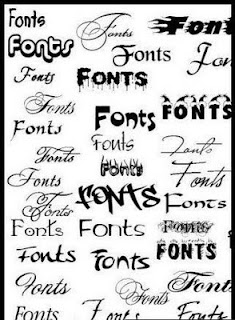 Graffiti Alphabet Fonts with Fonts Character Sample