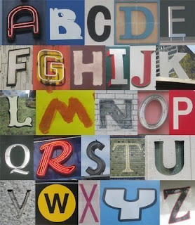 Retro Fonts Design Graffiti Letter A-Z