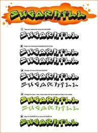 graffiti fonts sugarhihh
