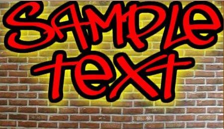 graffiti font creator