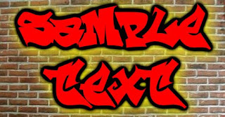 Graffiti Creator with Reskagraf Font