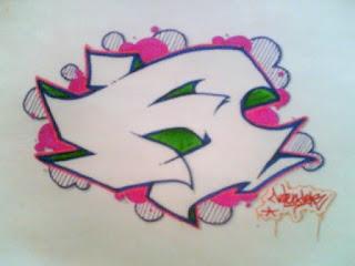 Graffiti Letter A