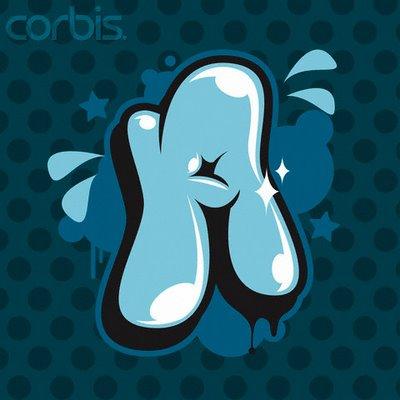 letter a. Design Graffiti Letter A 4