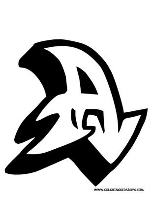 A Alphabet Design Best Graffiti World: Graffiti Letter A Sketches Design
