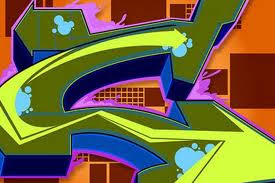 Graffiti Letter C