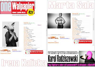 ONE WALPAPIER numer 8 Marta Sala i Irena Kalicka