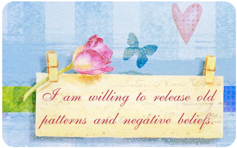 Positive affirmations negative thoughts depression
